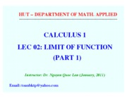 Cal1 TT 1011 Lec02a Function (updated)