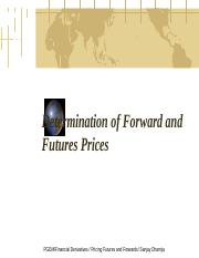 4. Valuation of Forwards and Futures.ppt