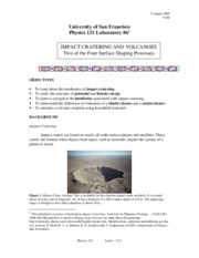 6 121 Impacts and Volcanos Manual (1)