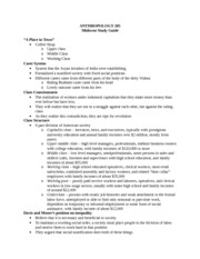 Anthro Midterm Study Guide