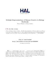 Multiple Representations of Human Genetics in Biology Textbooks