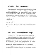 What is Project Management - OM453