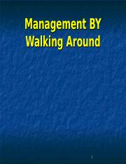 Management walking around.ppt
