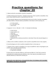 Practice questions for chapter 20.docx