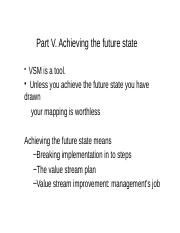 Part V Achieving the Future  State.pptx