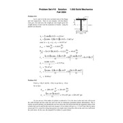 Eng 1.05 Pset 10 Solutions