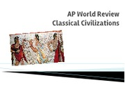 AP World Review Classical Civilizations (1)