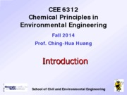 CEE6312+Overview-Introduction