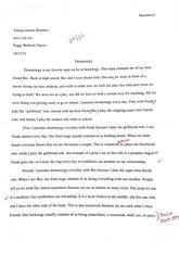 How do you write a dramaturg paper?