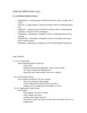 Exam 3 study guide part 2