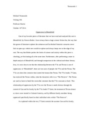 Essay 2 Final Draft Mike Tomasuolo