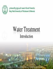 CE330-Chapter-10 - Water Quality