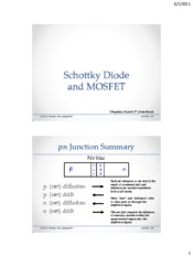 Lecture19-Schottky-MOSFET