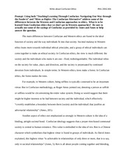 essay on confucianism confucianism essay essay on high gas prices scribd confucianism and filial piety in chinese culture essay