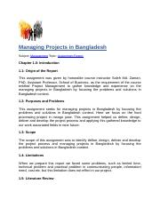 Managing Projects in Bangladesh.docx