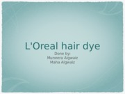 L'Oreal hair dye - Muneera and Maha (1)