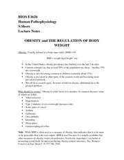 Obesity Notes 12-3