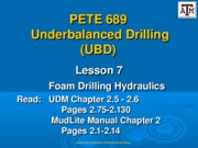 Lesson 7 Foam Drilling Hydraulics-3