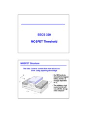 Lec19 MOSFET threshold