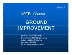 Ground Improvement Presentation