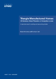 Triangle Homes Module 1