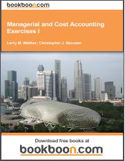 managerial-and-cost-accounting-exercises-i