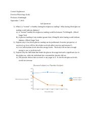 Exercise Phys Lab 1 (Blood Glucose) Q&A with Graph.docx