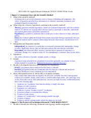 Hd 310 Final exam study guide.docx