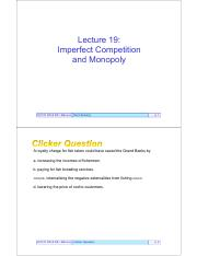 Outlines19-ImperfectCompetitionMonopoly