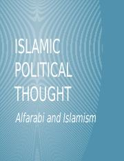 Lecture Eleven - Islamic Political Thought.pptx