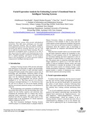 Facial expressions and human tutoring-1