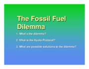 J Lecture 10 - Fossil Fuels
