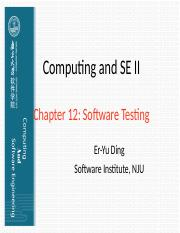 Chapter 12 Software Testing.ppt