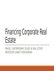 Financing Corporate Real Estate.pptx