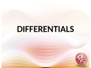 00 Differentials