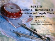 Introduction to Operations and SCM - Chapter 1-2