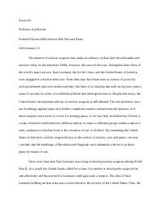 war and peace essay draft 3