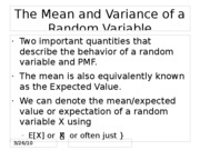 10 mean variance cheb