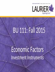 Economic Factors BU111.ppt