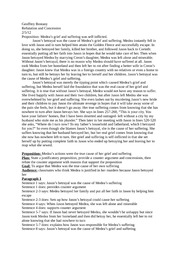 betrayal in jason and medea essay Betrayal and revenge in medea essay jason elicits medea  to avenge her husband for his betrayal, medea kills the princess and the children she herself had.
