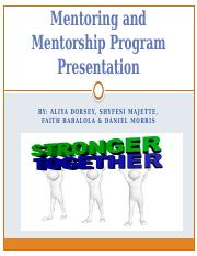 Mentoring and Mentorship Program Presentation (1) (1)