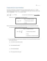 1q-10 compound interest worksheet.pdf - Ar Compound Interest and e ...