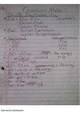 Electrochemistry and Nuclear Chemistry Review Notes