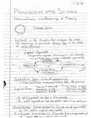Philosophy - 2 : logic, deductive and inductive reasoning