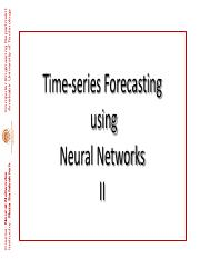 ENN  120 (Time-series Forecasting Problem)