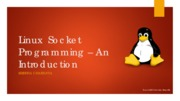 Linux  Socket Programming – An Introduction