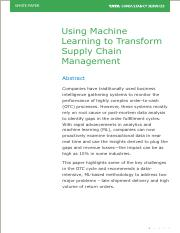 Using Machine Learning to Transform Supply Chain Management.pdf