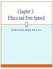 Chapter 3 Ethics and Free Speech.pptx