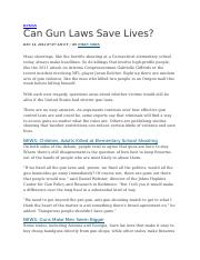 Can Gun Laws Save Lives (1)