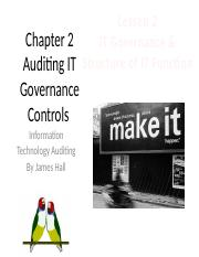 Chap02 Auditing IT Gov. Controls - MWF2 - Distributed Model.pptx